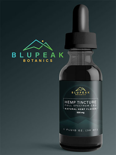 Packaging Design-BluPeak Bottle